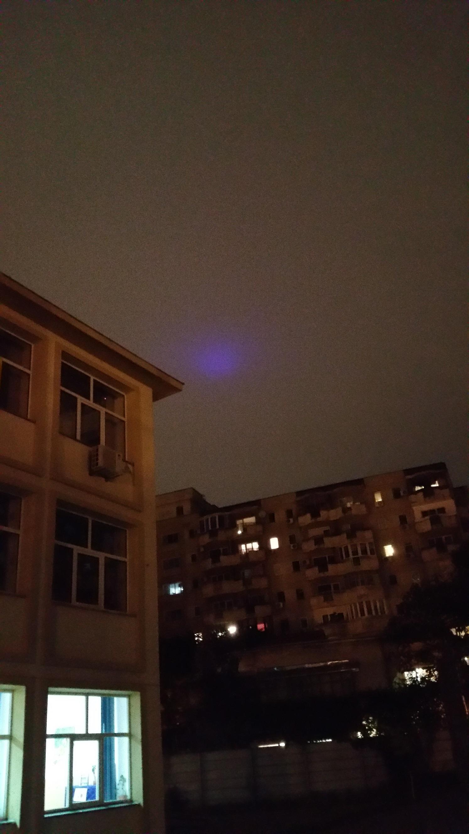 Lumini ciudate pe cer