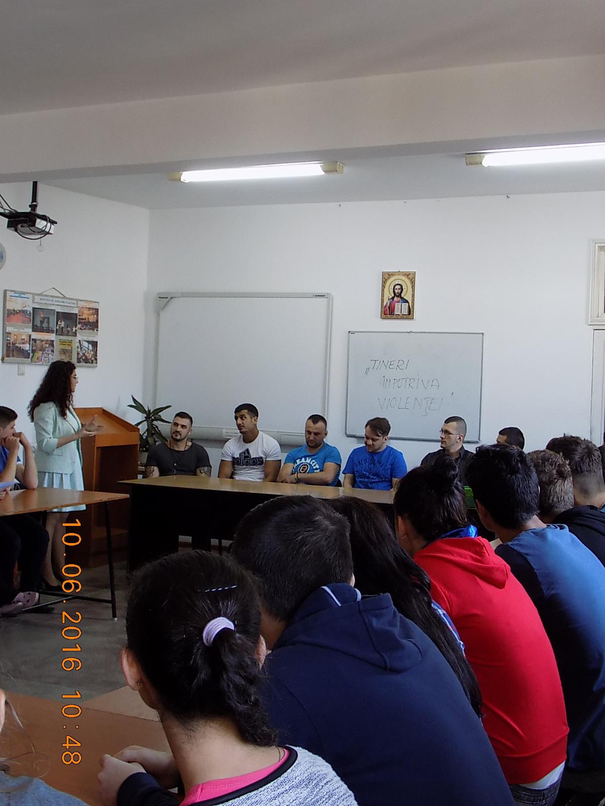 Tineri împotriva violenței Penitenciarul Ploiesti