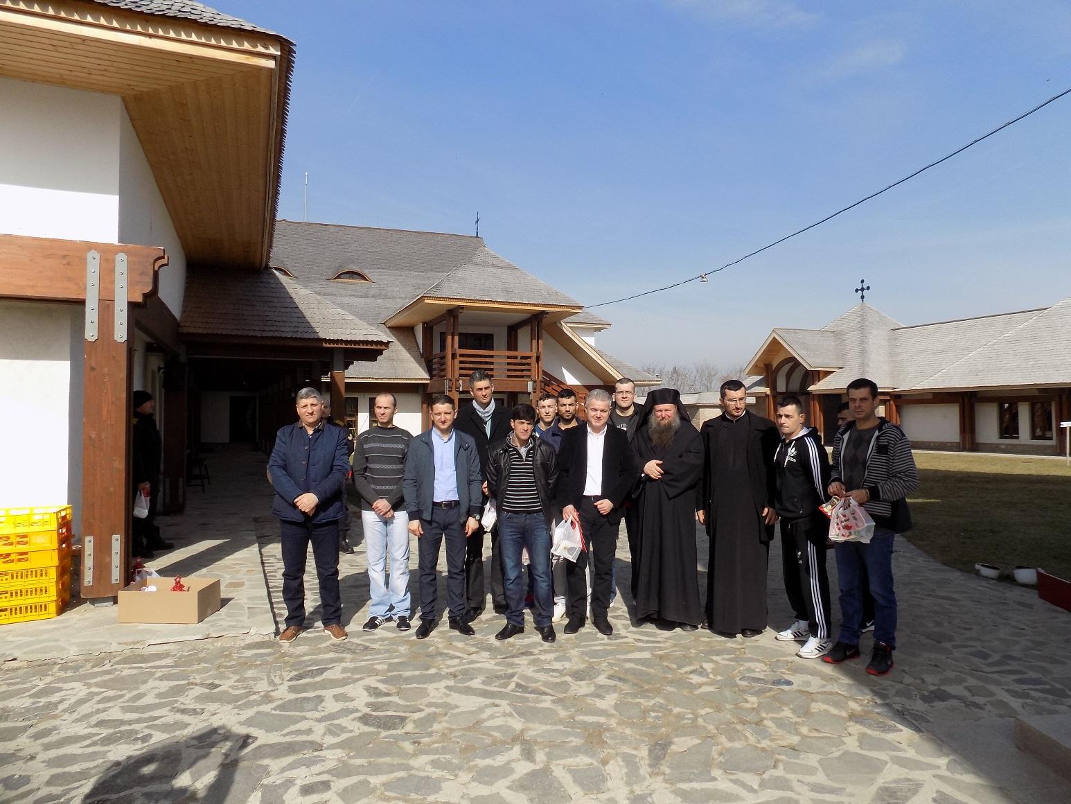 Vizita Manastirea Turnu foto comunicat