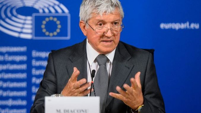 Mircea-Diaconu europarlamentar