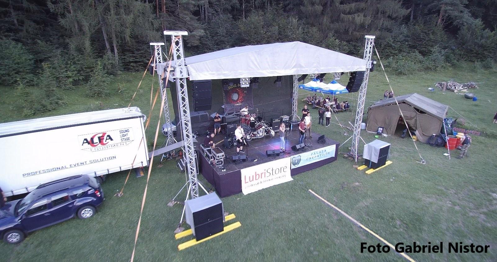 Concert aer- prima zi Rock la foc 2018