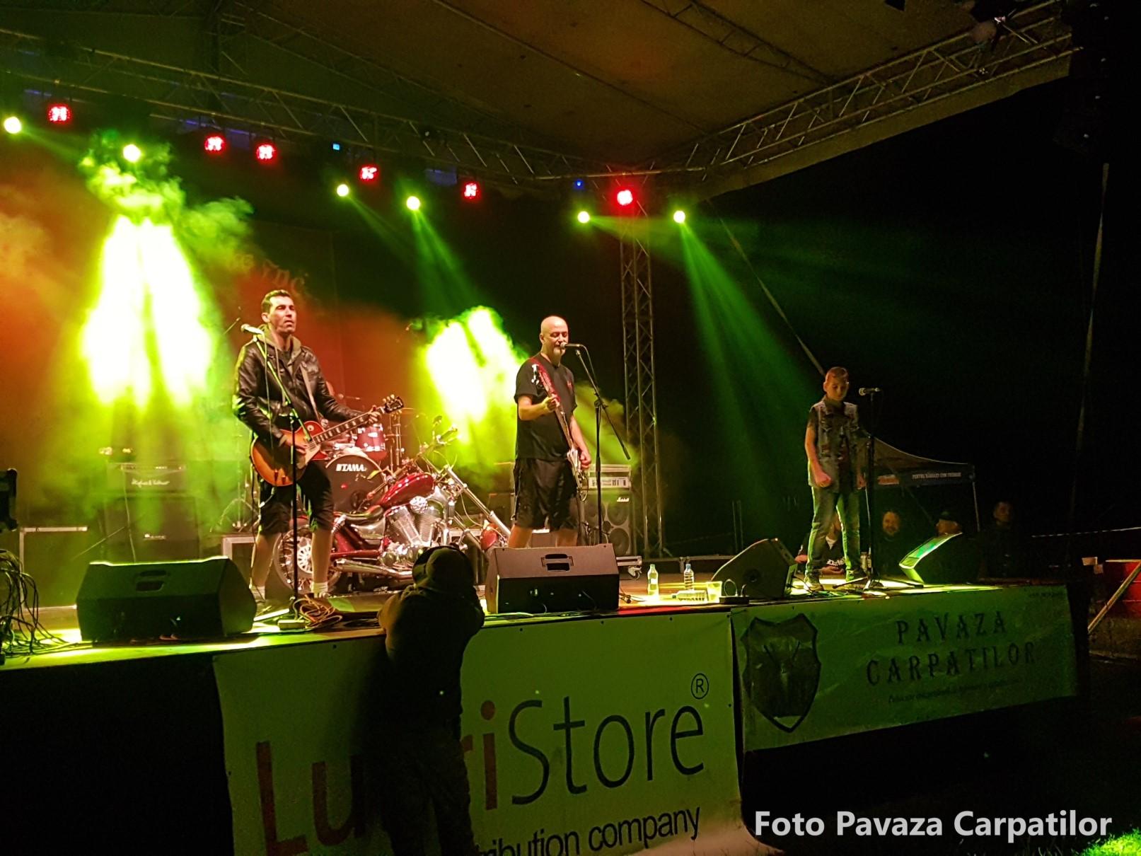 Concert prima zi Rock la foc foto