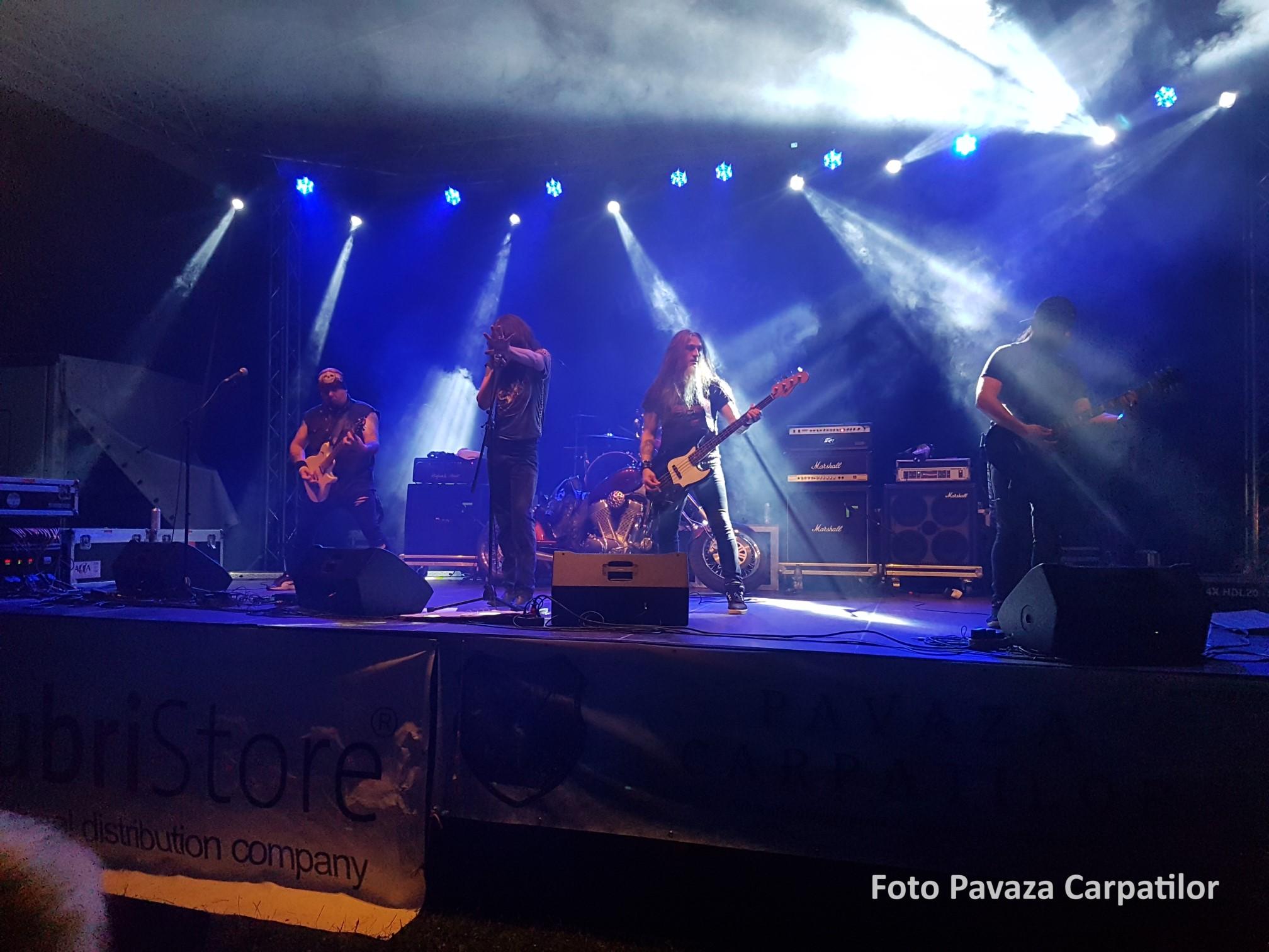 Concert rock - a doua zi Rock la foc 2018
