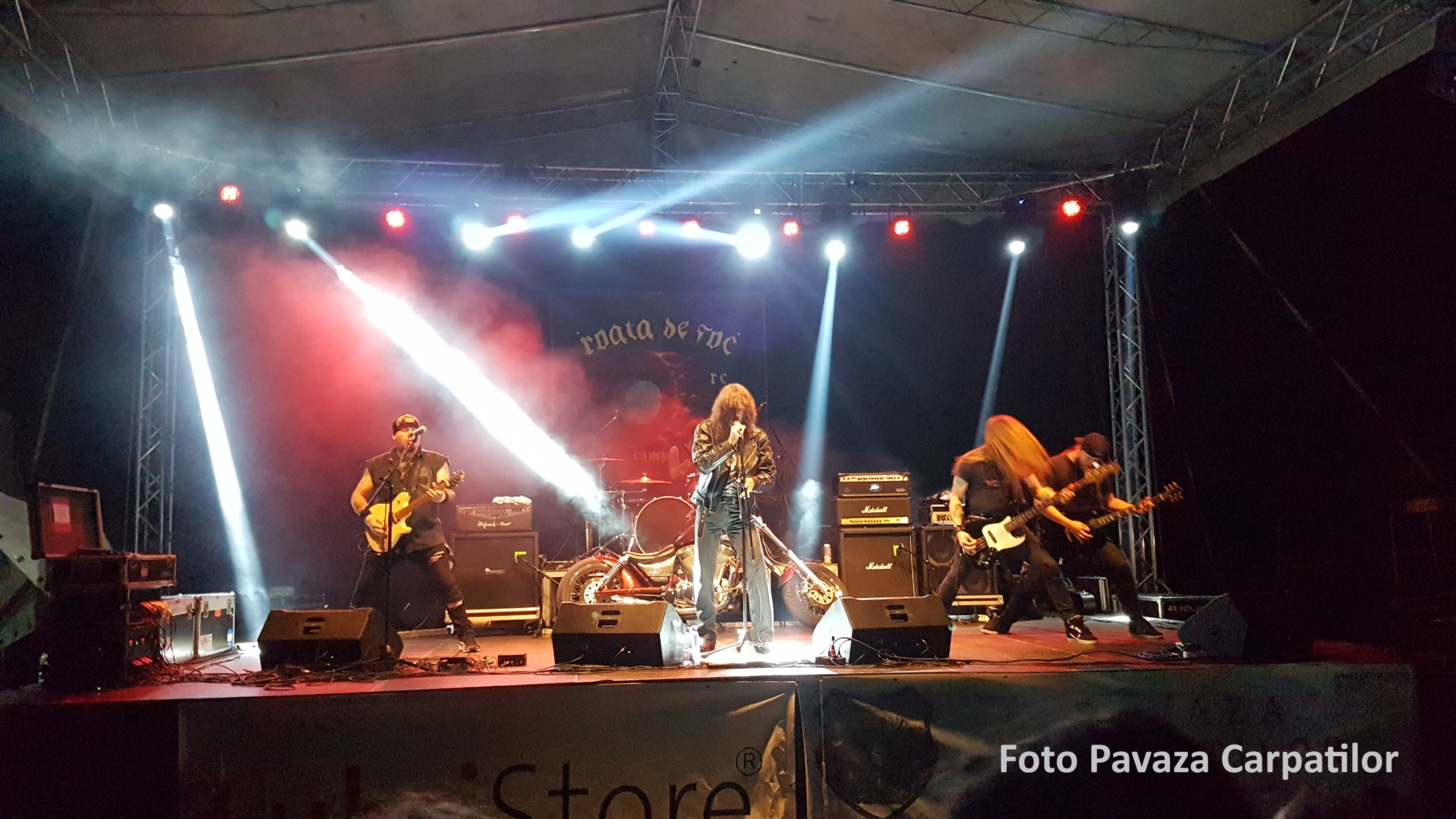 Roata de foc 2018 - concert foto