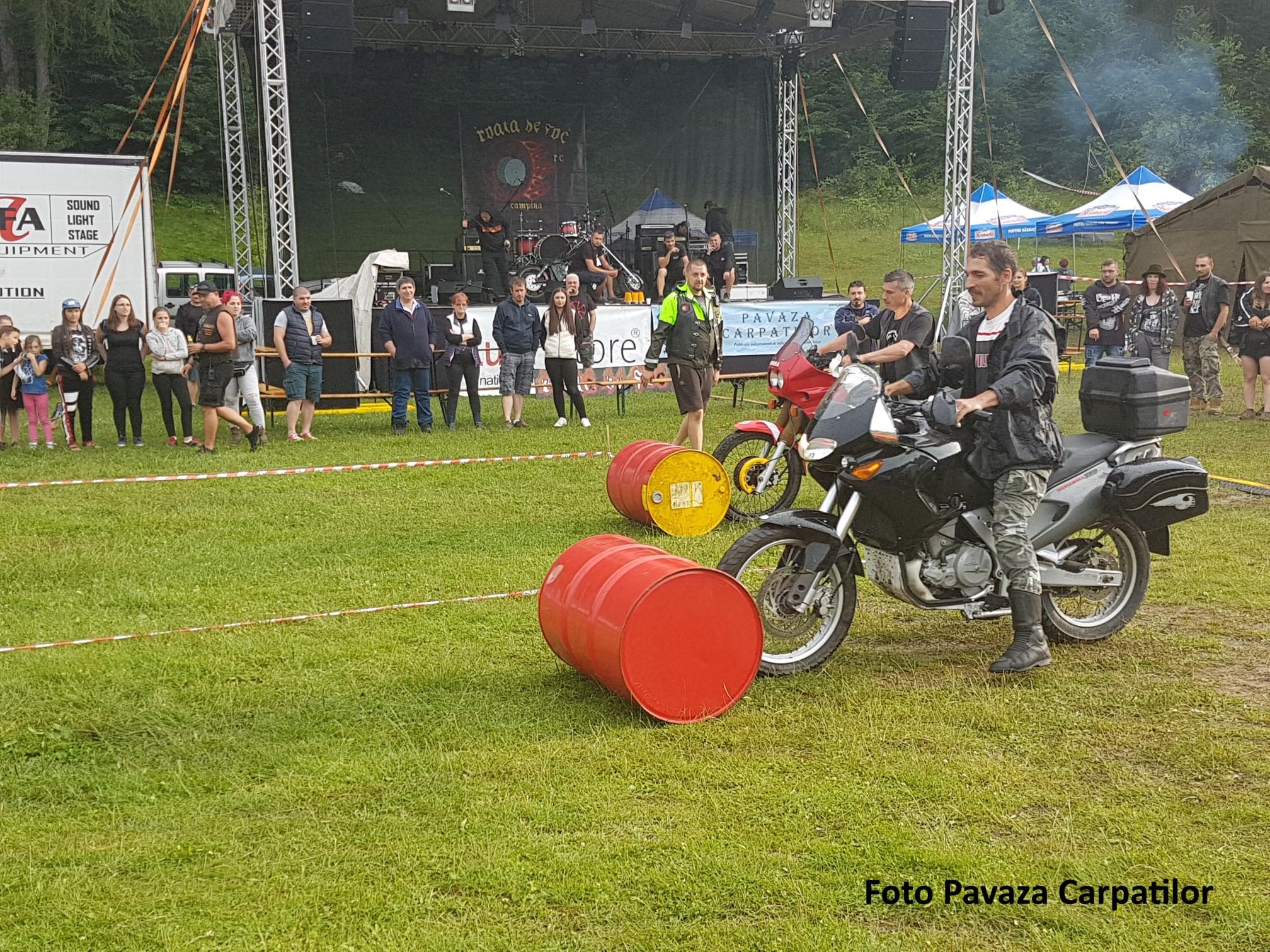 Rock la Foc 2018 - concurs moto a doua zi