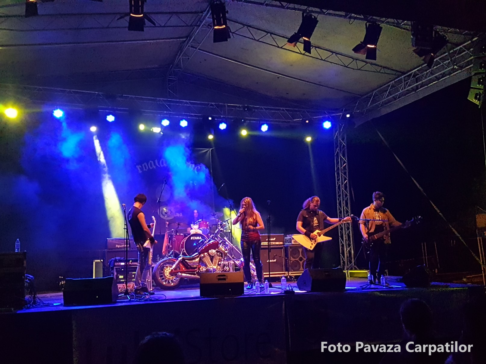 concert prima seara Rock la foc 2018